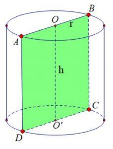 Cách tính thể tích hình trụ