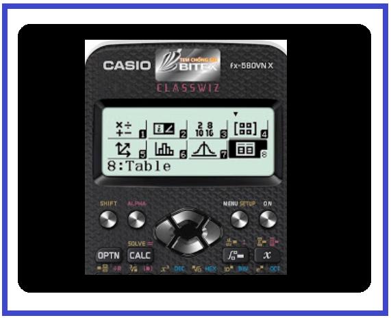 Sử dụng máy tính casio fx 580 để bấm máy tính nguyên hàm giải đủ mọi dạng